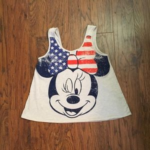 Disney Minnie Mouse American Tank Size S